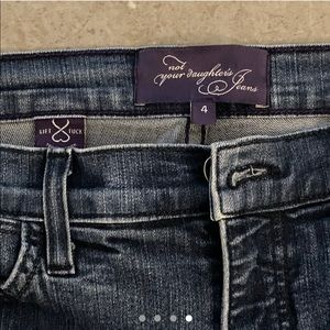 """""""Not your daughters jeans"""" designer"""